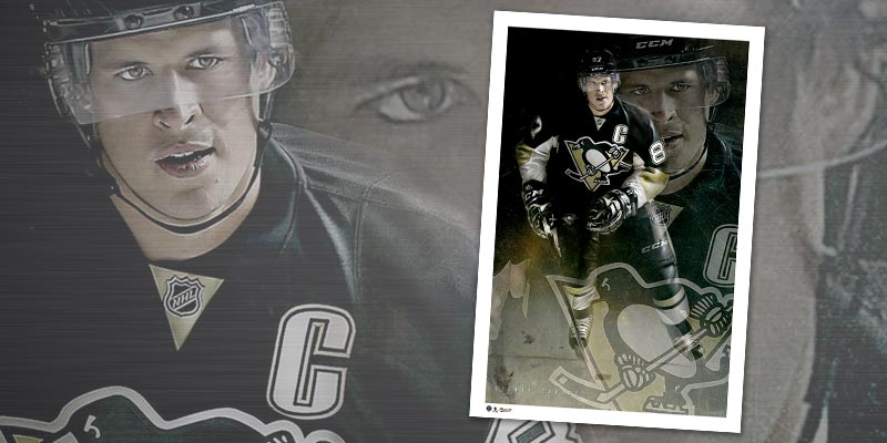SKU# 73-147 - Sidney Crosby